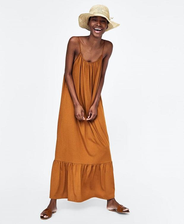 rebajas de Zara vestidos verano 2018