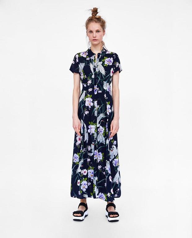 24d700dcc ... rebajas de Zara vestidos verano 2018
