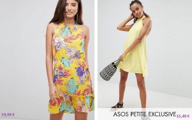 rebajas de Asos vestidos verano