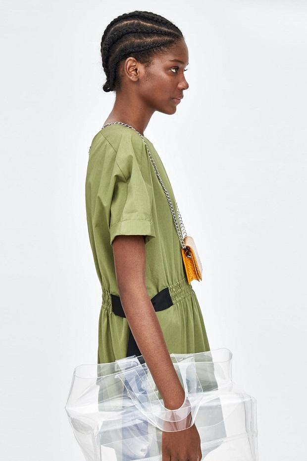 Bolsos de vinilo de Zara 2018