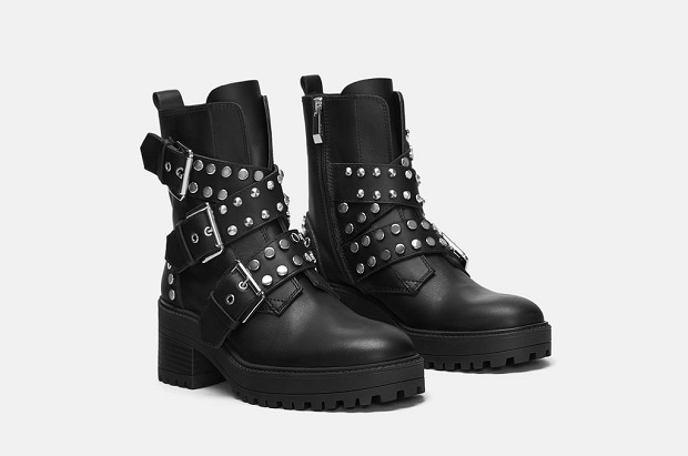 Botas militares Zara 2018
