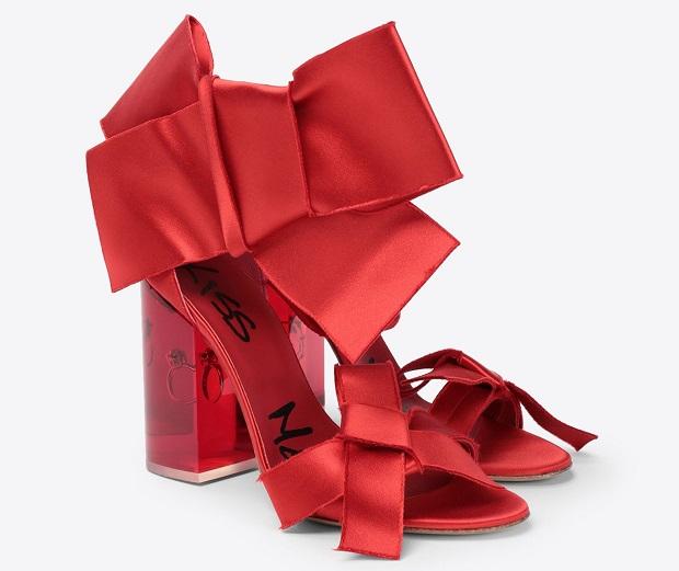 Maison Margiela zapatos de novia anillo