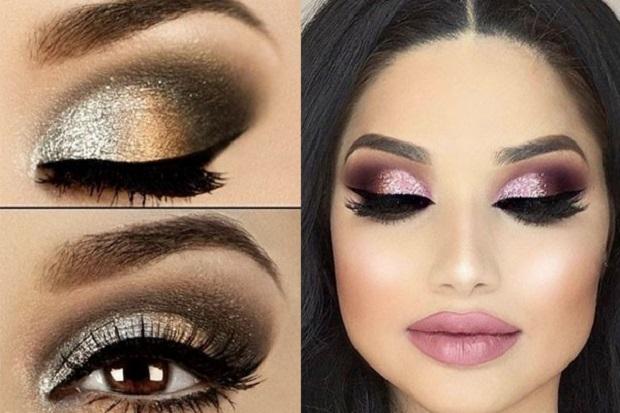 maquillaje para Navidad 2018